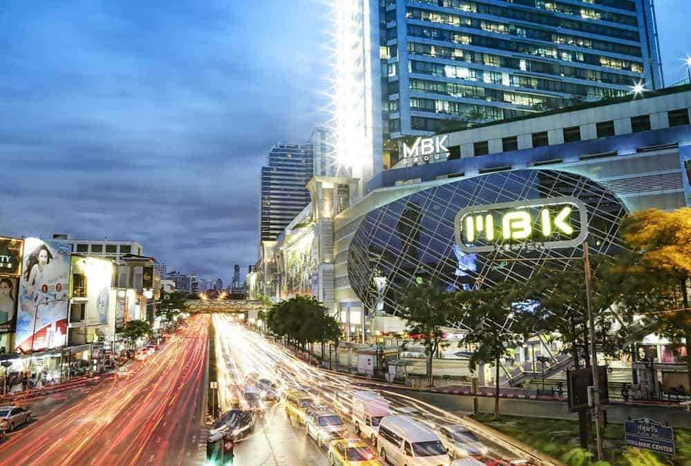 MBK Shopping Center in Bangkok