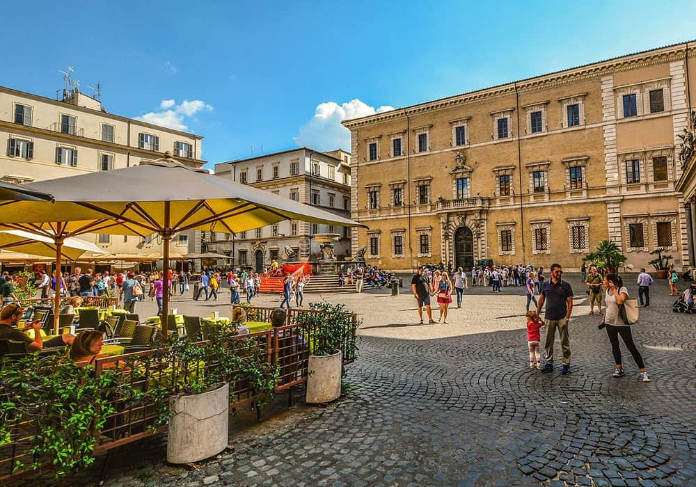 Delicious restaurants in Trastevere Rome
