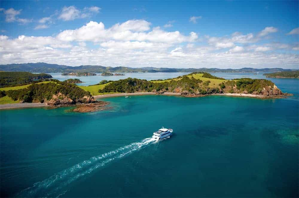 Explore the Bay of Islands by boat
