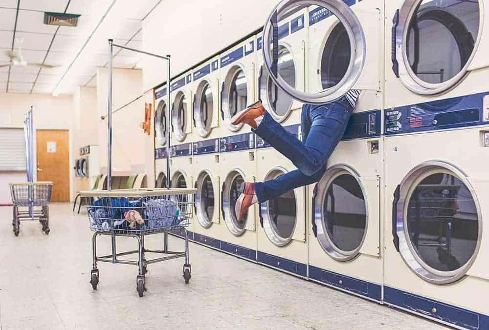 Use a laundromat in London