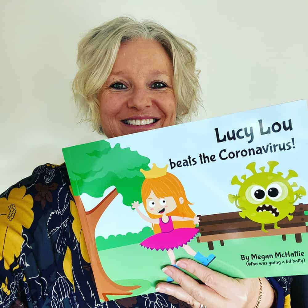 Lucy Lou beats the Coronavirus book