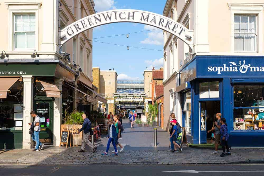 Greenwich Market entrance