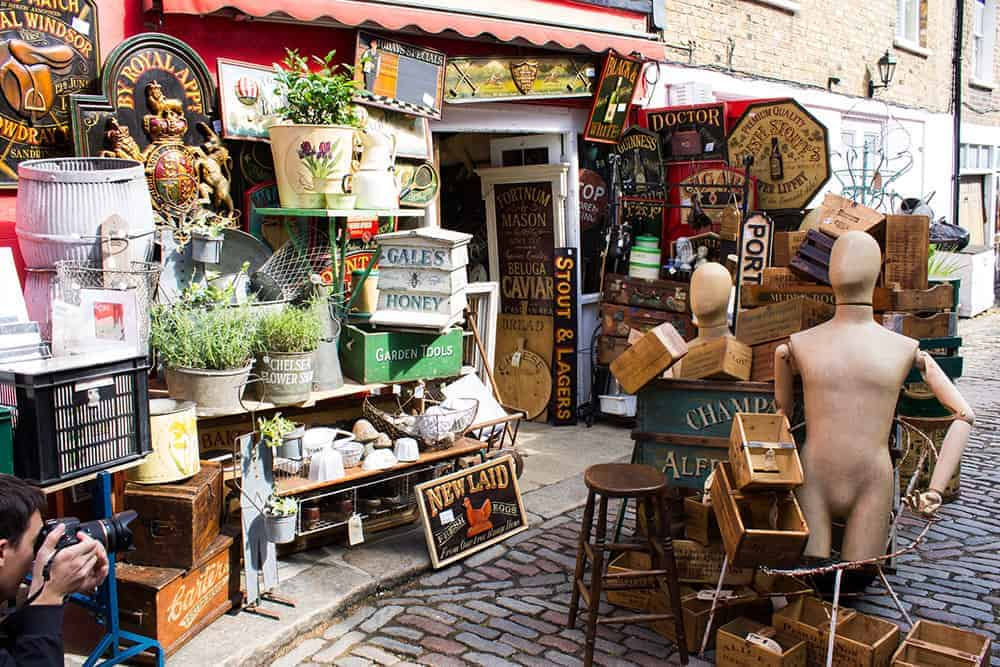 Portobello Market, London
