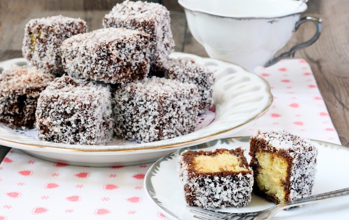 Lamington Cake Australia