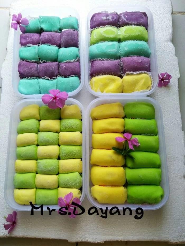 Pancake Durian Medan Mrs Dayang