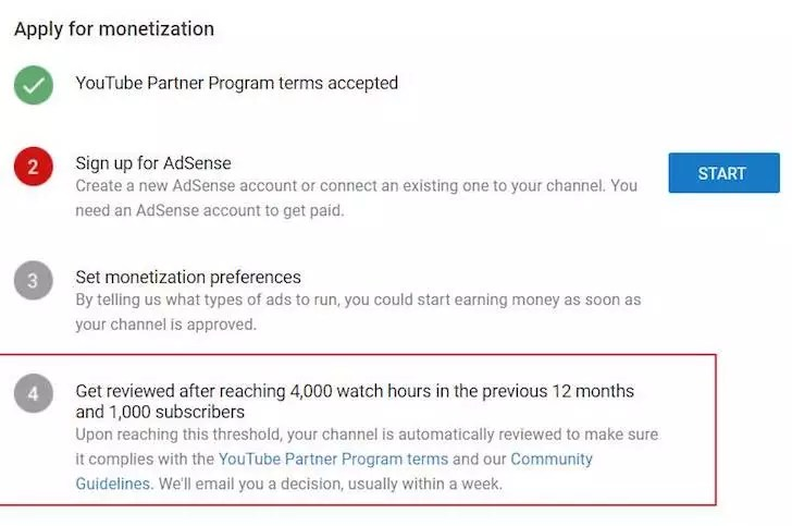 Aturan Baru YouTube Partner Program