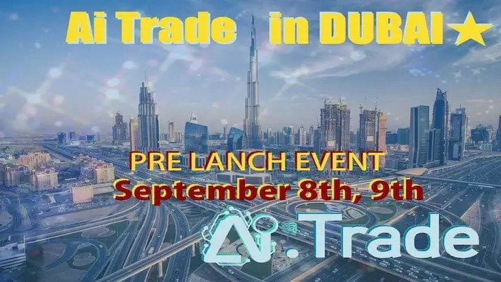 Pre Launch Event AI Trade Dubai 2018