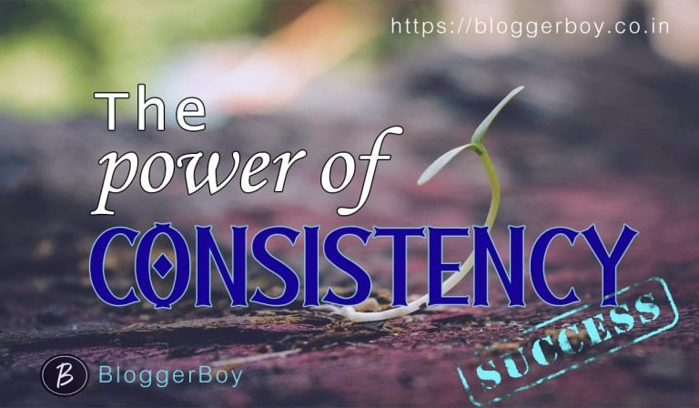 Consistency: A Life Changing Habit