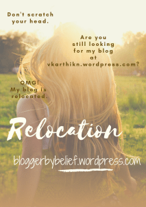 Relocation of my blog