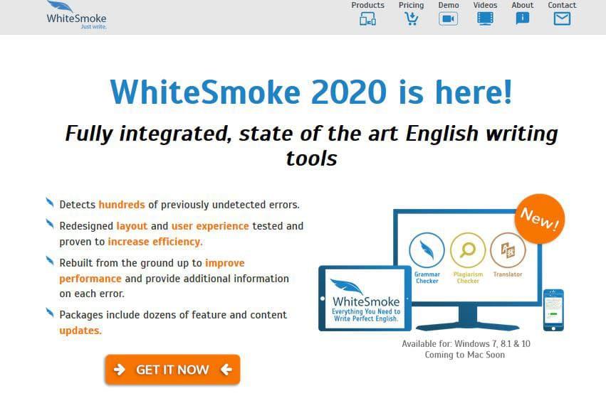 WhiteSmoke Plagiarism Checker