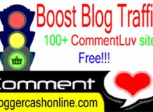 Boost my blog traffic image