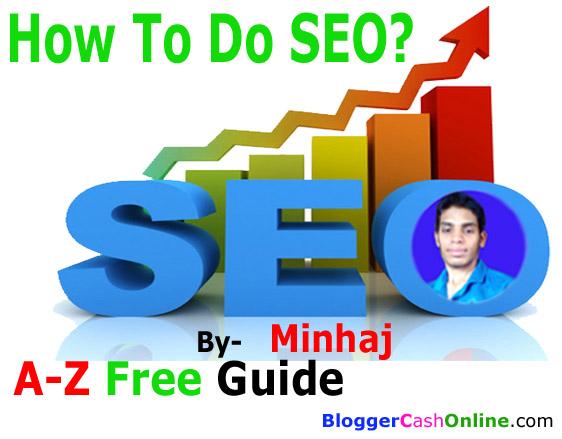 How To Do SEO For Website Guide by MINHAJ