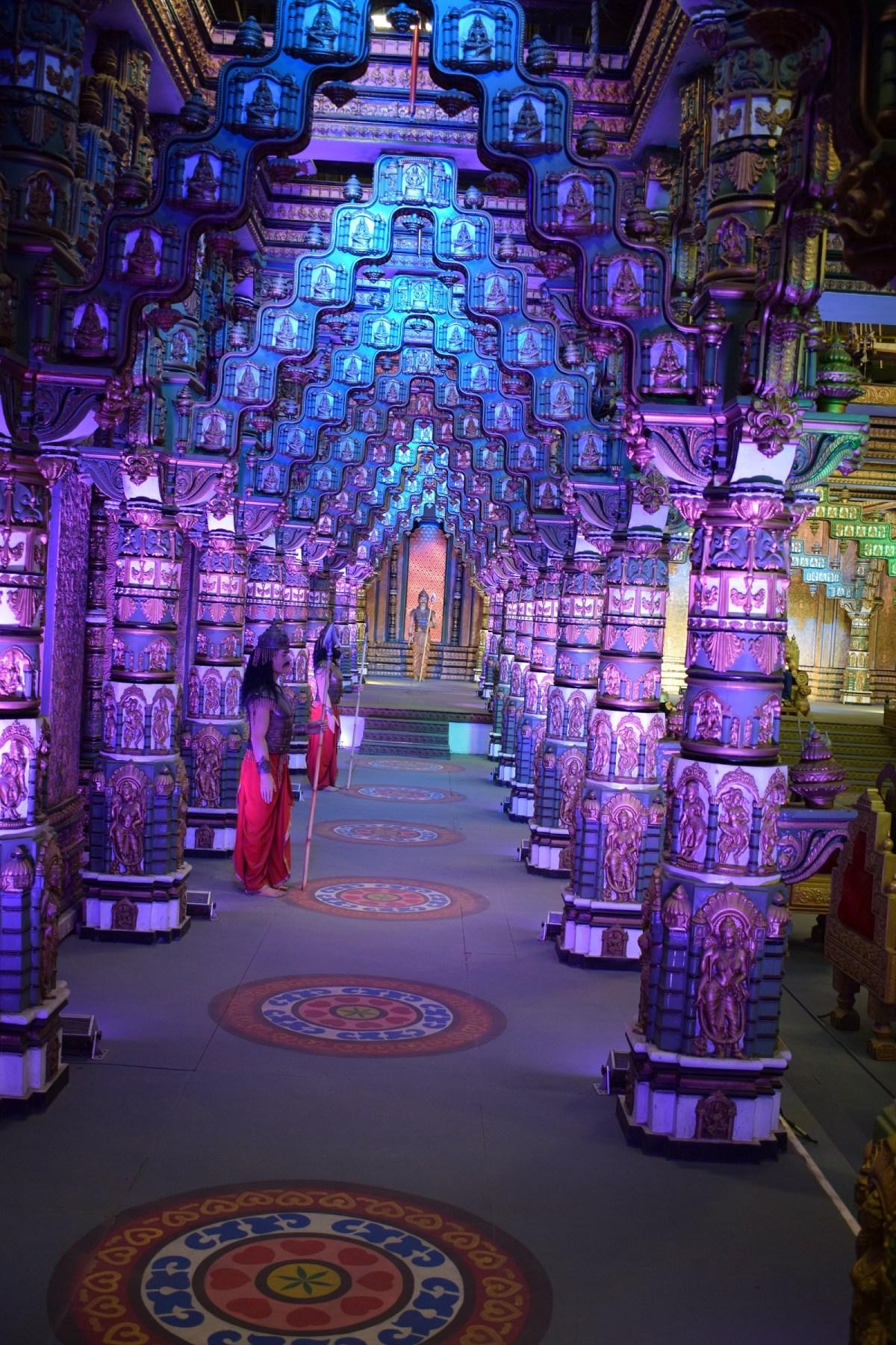 Ramayan-Mahabharat set