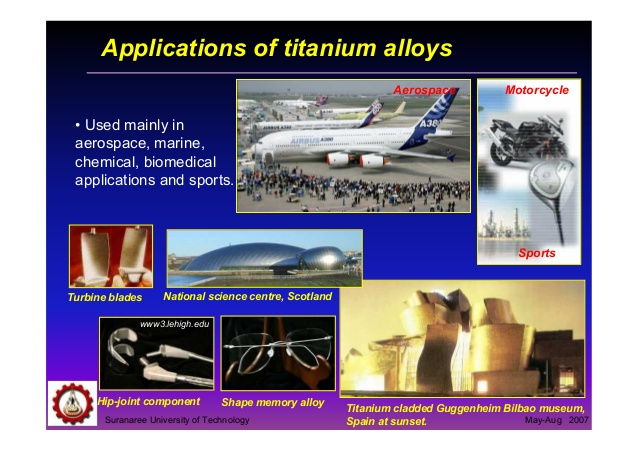 titanium 3 Top 5 Strongest Metal on the Earth.