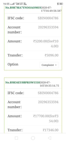 PussClub color/number trading payment proof