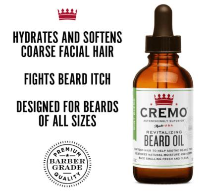 Cremo beard oil - best beard soothing oil