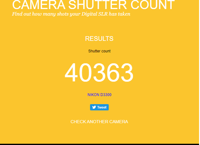 How to check shutter count of any DSLR camera? Easy Way 3 steps