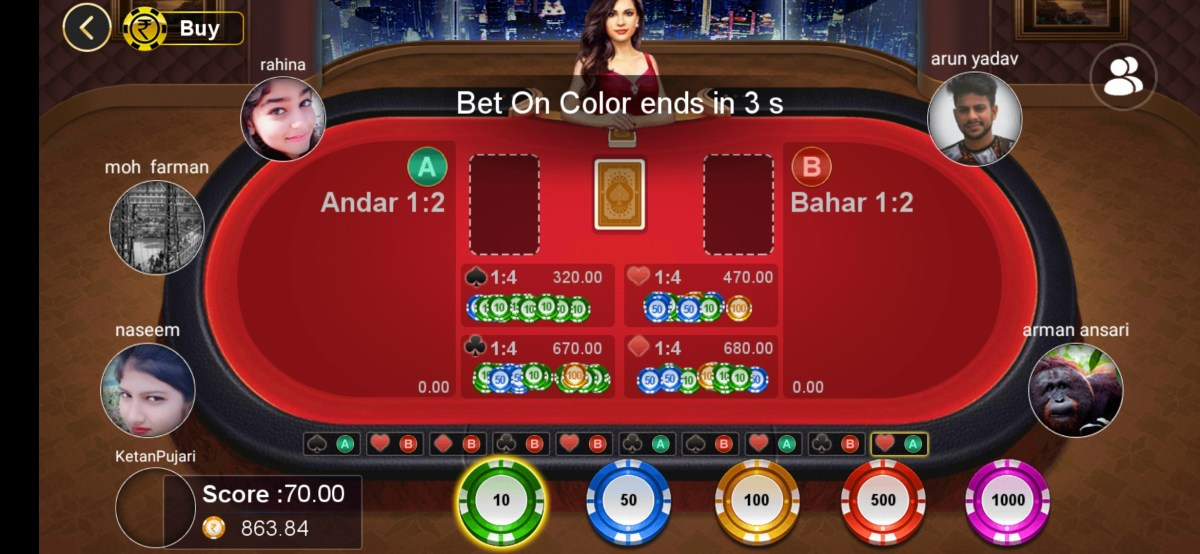 Screenshot 2021 07 20 16 11 43 70 8854a0bd707055e76b0f095609c2ff5b RummyParty - Best Andar Bahar, Teen Patti & Rummy Real money Game.