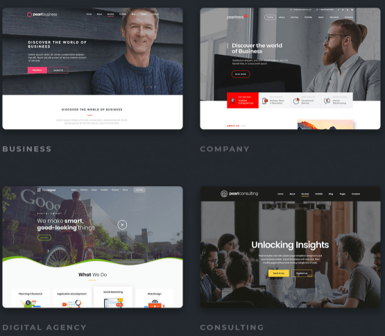 PearlReview — The Best Corporate WordPress Theme