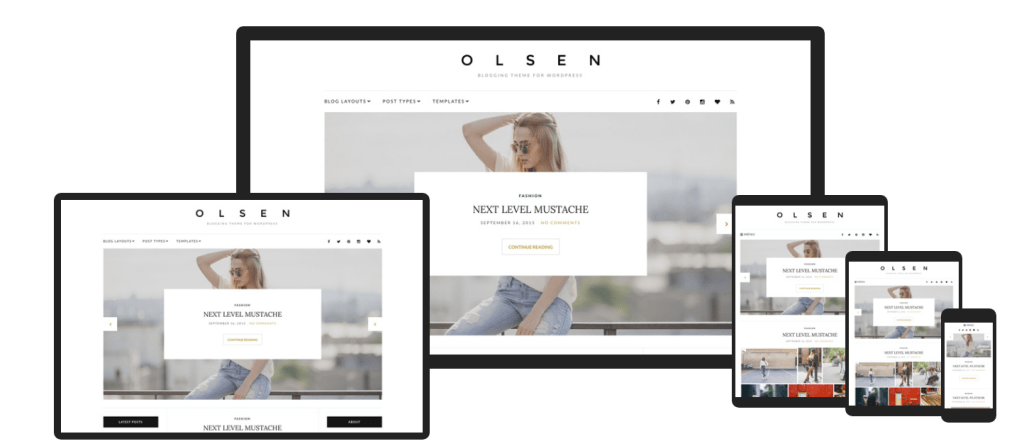 OlsenReview – The Best WordPress Theme for Lifestyle and Fashion Blogs