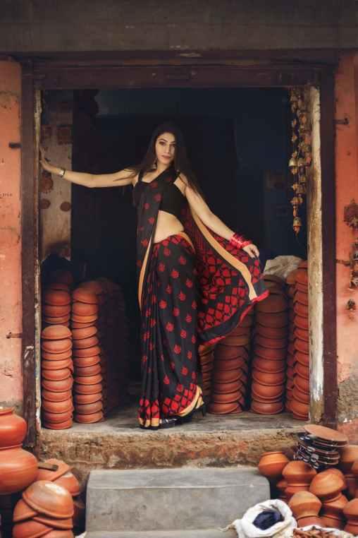 designing saree marathi tips, sadichi kalji kashi ghyavi