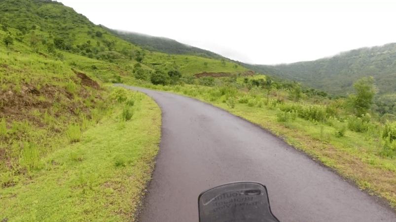 Raireshwar roads in mansoon