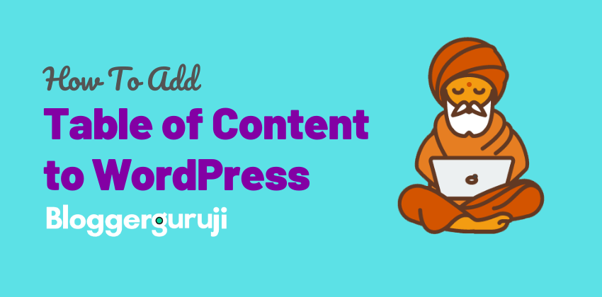 WordPress meh Table of Content Add Kaise kare