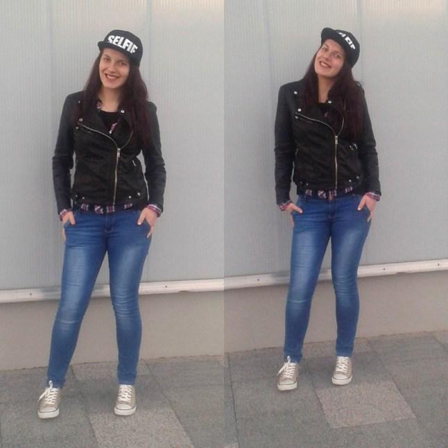 snapback cap outfits on bloggerissa 1