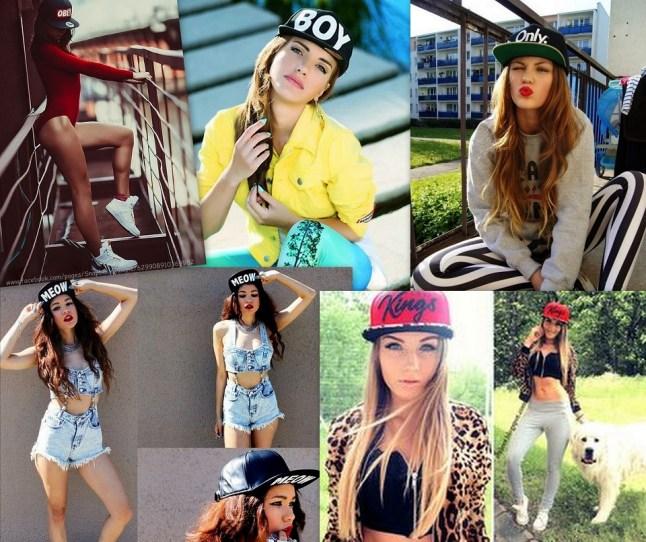 snapback cap outfits on bloggerissa pinterest