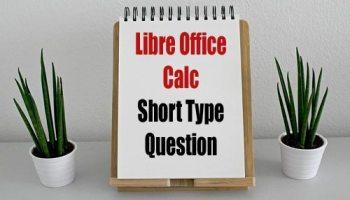 Libre Office Calc