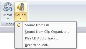 Audio Clip Presentation