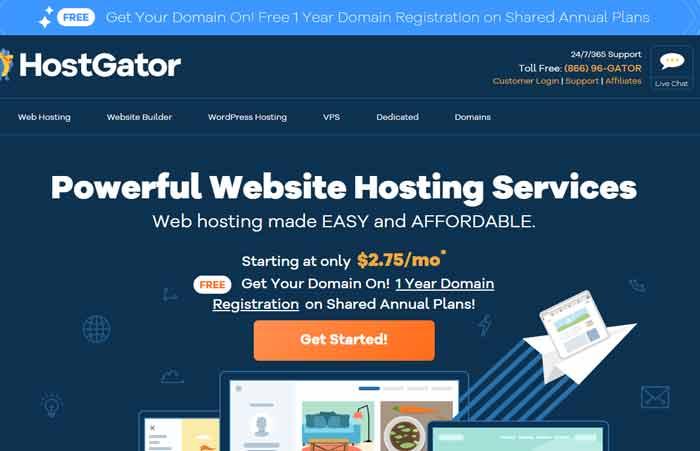 Hostgator-Web Hosting Plans