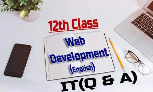 12th Class Web Development