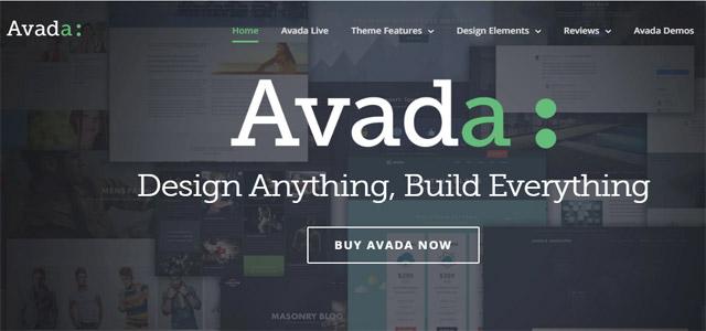 Avada WordPress Free Themes