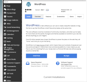 cara install wodpress self hosted 2