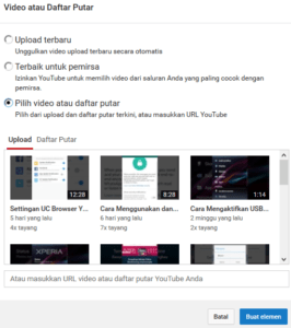 cara menambahkan end screen dan anotation di video youtube 3