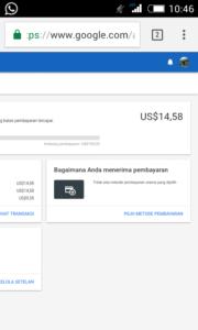 cara setting pembayaran adsense us lewat payoneer terbaru 5