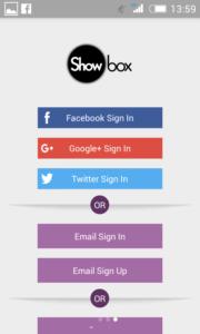 cara bermain dan menggunakan showbox apk android 12