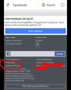 cara menghilangkan spam di facebook android