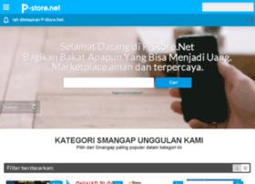 P-store.net Marketplace Jasa Dan Produk Online Lokal Karya Anak Bangsa