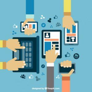 pemanfaatkan gadget untuk media belajar dan membangun relasi bisnis