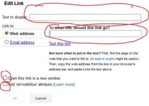 cara membuat link di blog menggunakan blogger blogspot