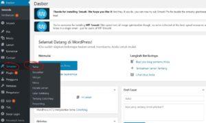 cara mengganti dan install tema di wordpress self hosted