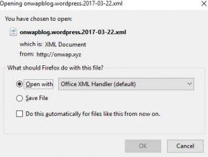 cara mudah backup postingan wordpress tanpa menggunakan plugin tambahan 2