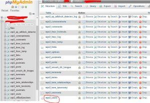 cara mengganti username dan password login wordpress self hosted 2