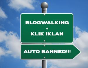 blogwalking sekaligus minta klik iklan