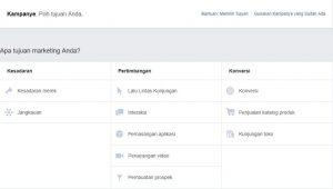 cara membuat iklan di facebook ads 1