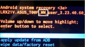 cara mengetahui versi firmware dan sku asus zenfone