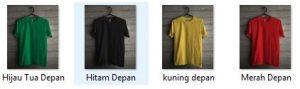 Download Kumpulan Mentahan Picsay Pro Kaos Polos Gratis Depan Dan Belakang
