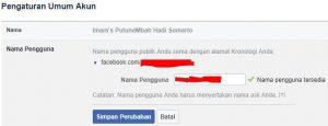 Manfaat Dan Rahasia Username Facebook 2